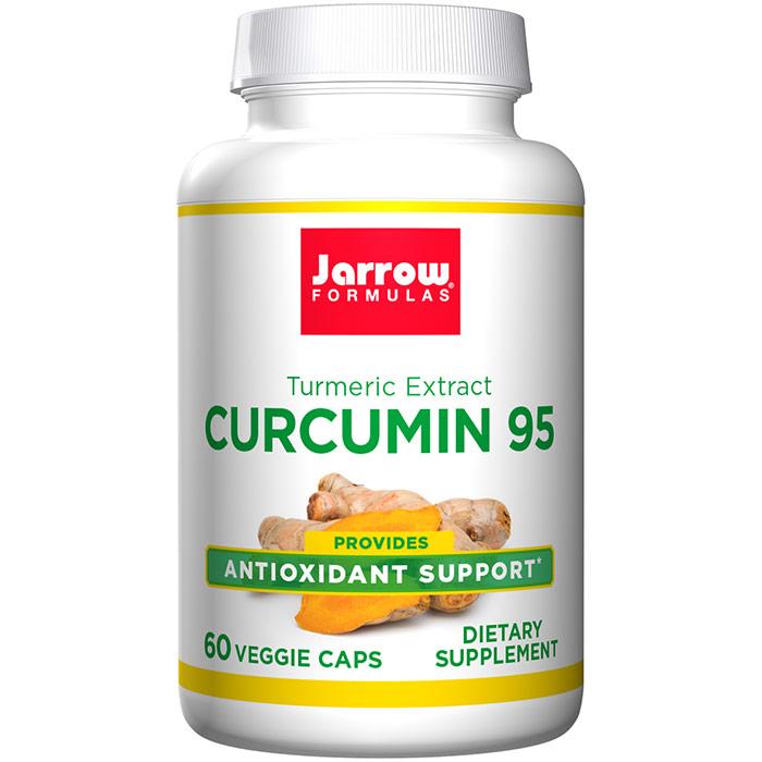 Curcumin 95, Turmeric Extract, 500 mg 60 caps, Jarrow Formulas