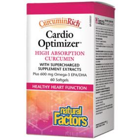 CurcuminRich Cardio Optimizer, High Absorption Curcumin, 60 Softgels, Natural Factors