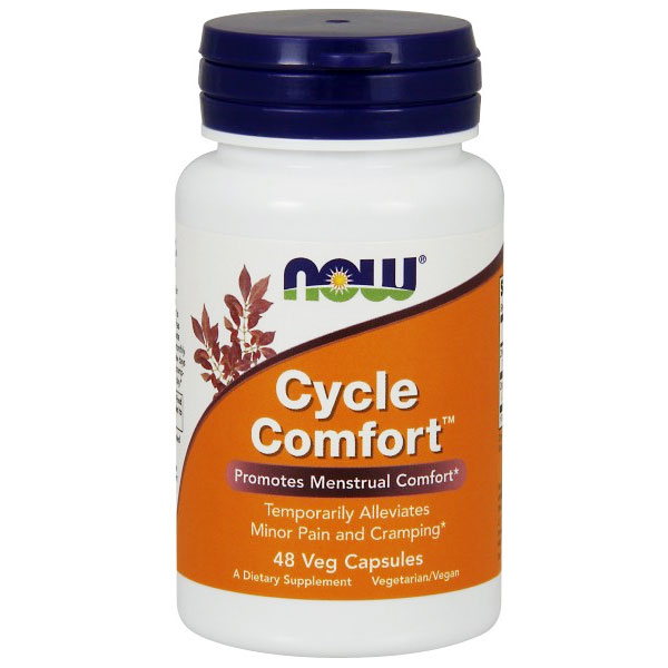 Cycle Comfort, Promotes Menstrual Comfort, 48 Vegetarian Capsules, NOW Foods