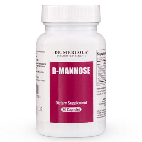 D-Mannose, 30 Capsules, Dr. Mercola