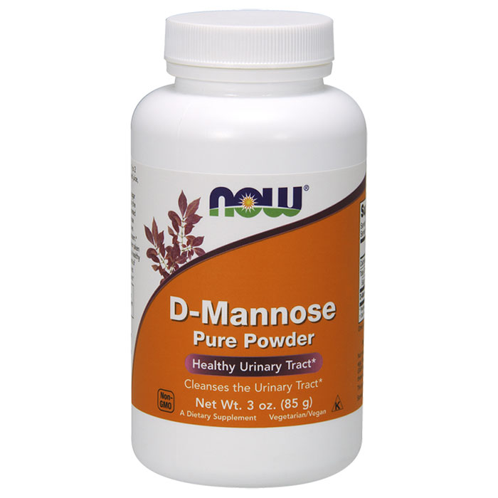 D-Mannose Powder, Urinary Tract Health, 3 oz, NOW Foods