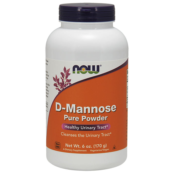 D-Mannose Powder, Value Size, 6 oz, NOW Foods
