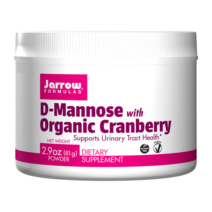 D-Mannose Powder with Organic Cranberry, 2.9 oz (81 g), Jarrow Formulas