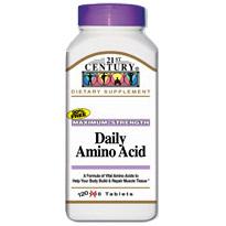 Image of Daily Amino Acid Maximum Strength 120 Tablets, 21st Century Health Care