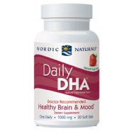 Daily DHA, 30 Softgels, Nordic Naturals