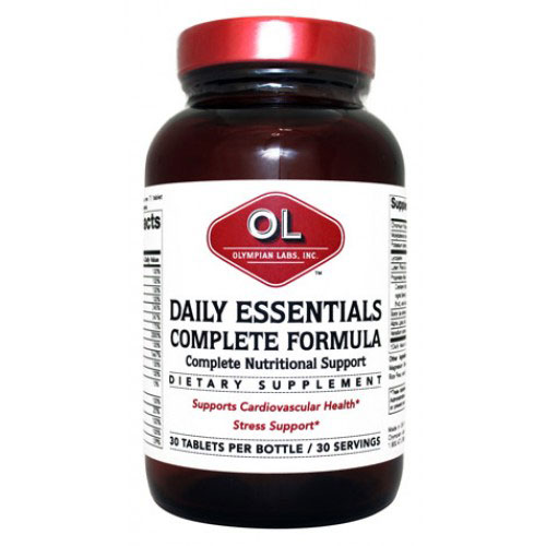 Daily Essentials Mens Formula, 30 Capsules, Olympian Labs