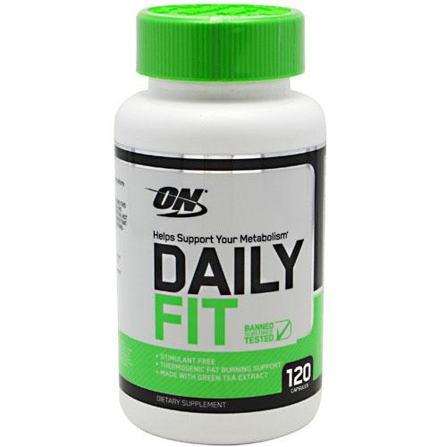 Daily Fit, Stimulant Free Metabolism Support, 120 Capsules, Optimum Nutrition