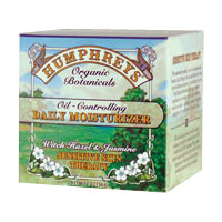 Oil-Controlling Daily Moisturizer, 2 oz, Humphreys Skin Care