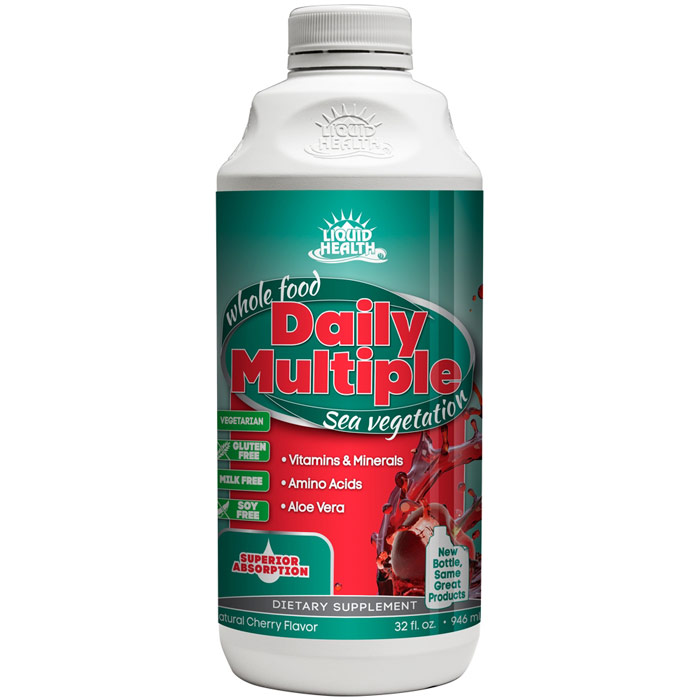 Daily Multiple Liquid Supplement, 32 oz, Liquid Health