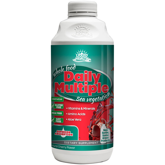 Daily Multiple Liquid Supplement, 8 oz, Liquid Health