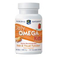 Daily Omega Kids, 30 Softgels, Nordic Naturals