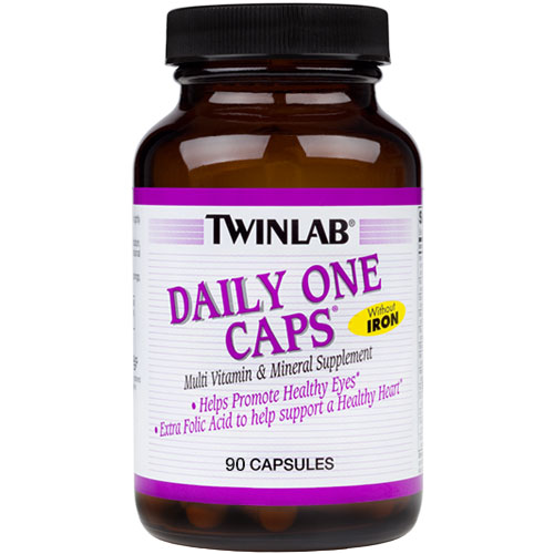 Daily One High Potency Multivitamins No Iron 90 caps from Twinlab