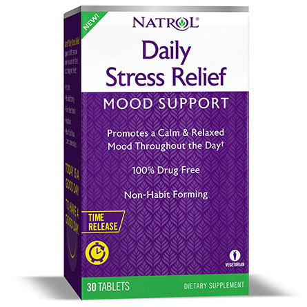 Daily Stress Relief, 30 Tablets, Natrol
