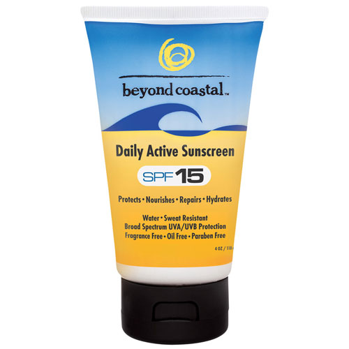 Daily Sunscreen SPF 15, 4 oz, Beyond Coastal - CLICK HERE TO LEARN MORE