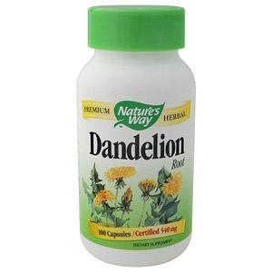 Dandelion Root 100 caps from Natures Way