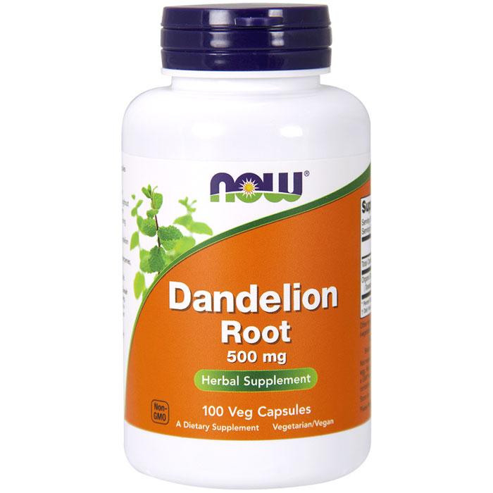 Dandelion Root 500 mg, 100 Vegetarian Capsules, NOW Foods