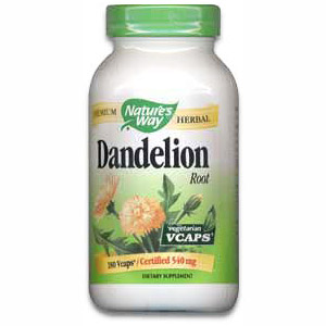 Dandelion Root 180 vegicaps from Natures Way