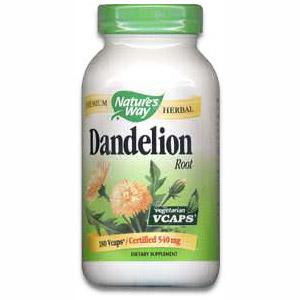 Dandelion Root 180 vegicaps from Natures Way