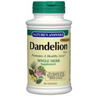 Dandelion Root 90 caps from Natures Answer