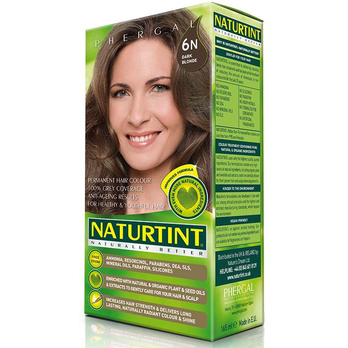 Permanent Hair Color, Dark Blonde (6N), 5.6 oz, Naturtint