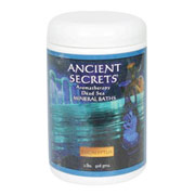 Aromatherapy Dead Sea Mineral Baths, Evergreen Forest, 2 lb, Ancient Secrets