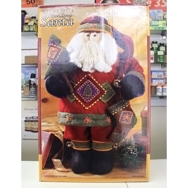 Decorative Standing Santa