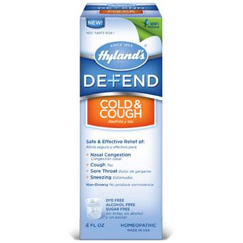 Defend Cold & Cough, 4 oz, Hylands