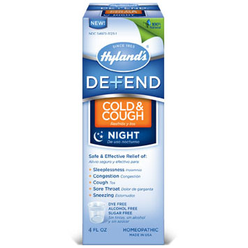 Defend Cold & Cough Night, 4 oz, Hylands