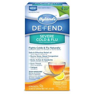 Defend Severe Cold & Flu, 6 Packets, Hylands