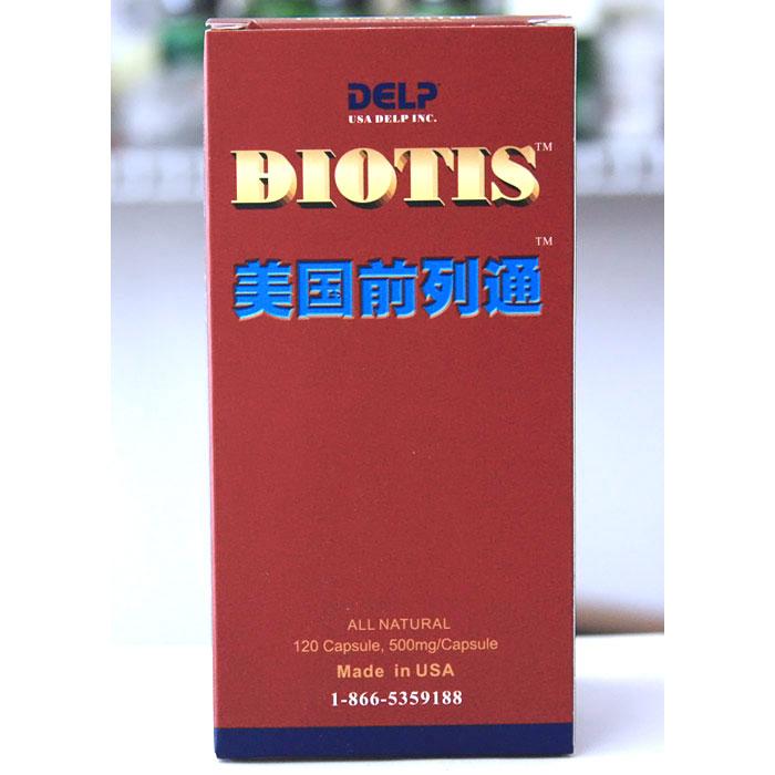 Delp Biotis, Prostate Support, 120 Capsules