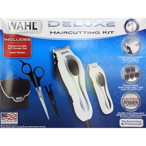 Deluxe Hair Cutting Kit with Detail Trimmer, WAHL Home Products