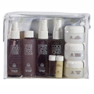 Deluxe Travel Skin Care Gift Kit, Devita