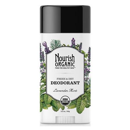 Organic Deodorant, Lavender Mint, 2.2 oz, Nourish