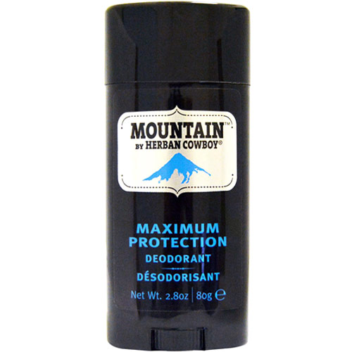 Herban Cowboy Mountain Deodorant, Maximum Protection, 2.8 oz