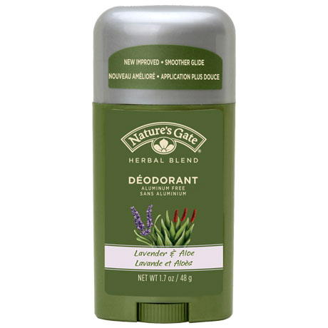 Deodorant Stick Propylene Glycol-Free, Lavender Aloe 1.7 oz from Nature