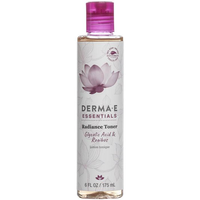 Derma E Essentials Radiance Toner, Alcohol Free, 6 oz