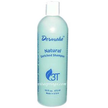 Dermaho Natural Enriched Shampoo 16 oz, 3T HerbTech