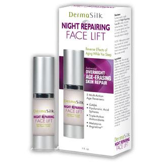Image of DermaSilk Night Repairing Face Lift Cream, 1 oz