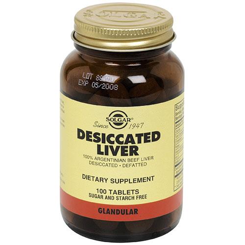 Dessicated liver