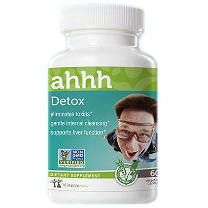 Detox Ahhh, Herbal Formula, 60 Vegetarian Capsules, BioTerra Herbs
