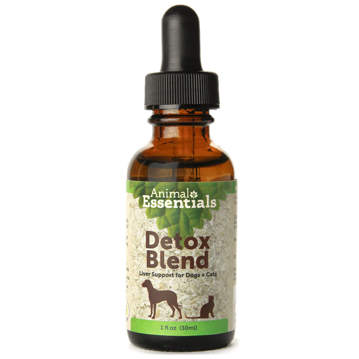 Detox Blend Liquid, Liver Support for Dogs & Cats, 4 oz, Animal Essentials