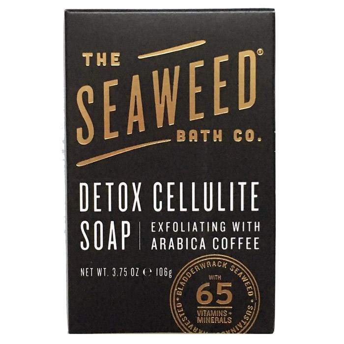 Detox Cellulite Soap Bar, 3.75 oz, The Seaweed Bath Co.