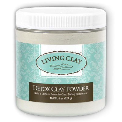 Detox Clay Powder, Dietary Supplement, 8 oz, Living Clay
