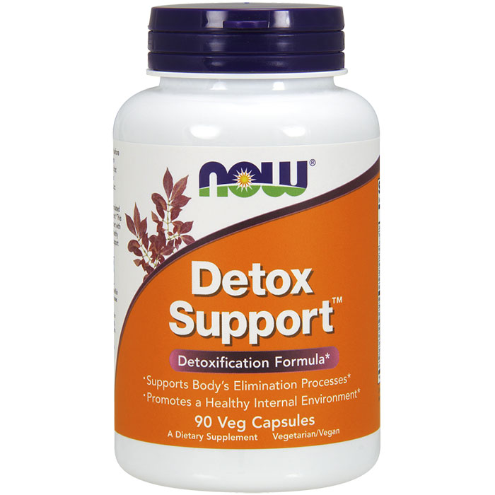 Detox Support, 90 Vcaps, NOW Foods