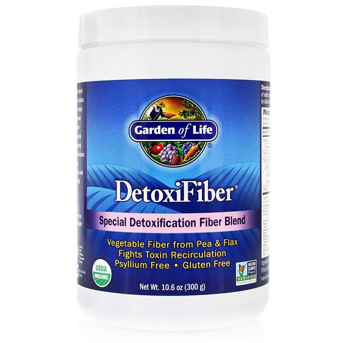 DetoxiFiber, Detoxification Fiber, 300 g, Garden of Life