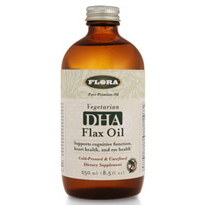 DHA Flax Oil, 8.5 oz., Flora Health
