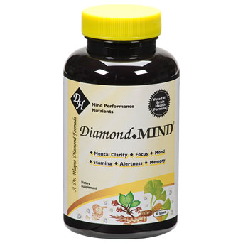 Diamond Mind, Targeted Mind Enhancer, 60 Capsules, Diamond Herpanacine