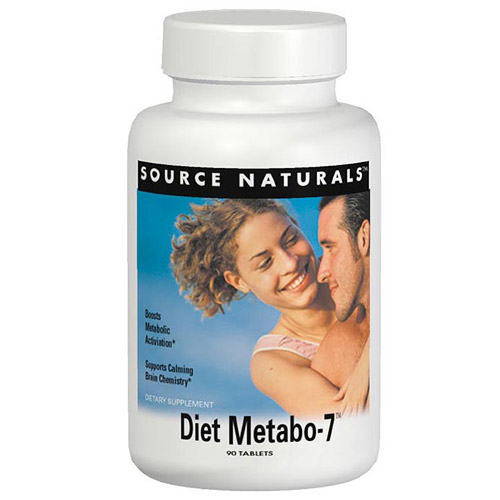 Diet Metabo-7 90 tabs from Source Naturals