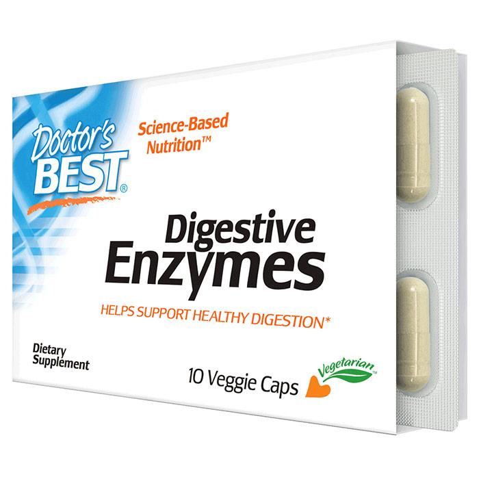 Digestive Enzymes, 10 Veggie Caps, Doctors Best