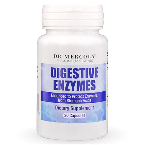 Digestive Enzymes, 30 Capsules, Dr. Mercola